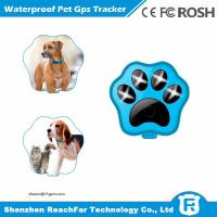 Buy cheap Portable cheap smallest real time gps pet tracker with one year battery and from wholesalers
