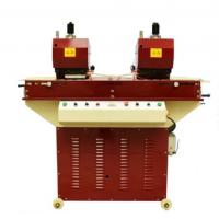 Quality Leather Belt Making Machine Double Heads Hydraulic Punching Machine for sale