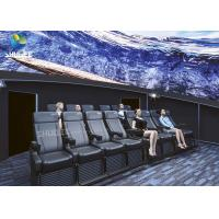Quality Dome Special Buildings 3D Movie Cinema Curved Screen Immersive Cinema With 4D Motion Seats for sale