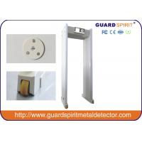 Quality CE Door Frame Walk Through Metal Detector Arch Way With Wheels , 850mm Width Channel for sale
