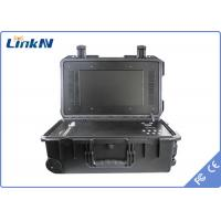China 4 Channel Portable COFDM Receiver , LinkAV - C600 wireless transmitter receiver on sale