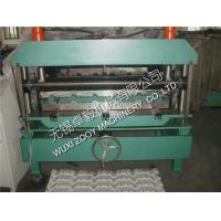 Quality Color Steel Roof Tile Roll Forming Machine with PLC Control System for sale