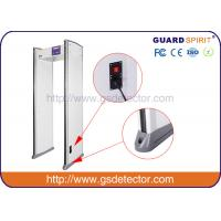 Quality Bank Airport Security Machines 6 Zones With Sound And LED Alarm , Police Metal Detectors for sale