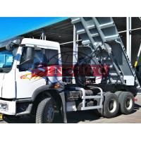 Quality 20 - 25 Tons Utility Dump Truck With Strengthened Dump Body Double Axle for sale