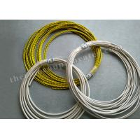 Quality FEP / FEP CMP High Temperature Wire 1 X 1000 Ft 24 / 2 Stranded Shielded Plenum for sale