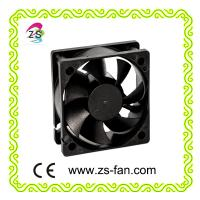 60*60*20mm laptop cooling fan 60mm high output 12v computer fan
