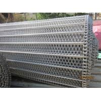 Quality Chain Edge Conveyor Belts,Chain Driven Wire Belts,Stainless Tunnel Freezer Belting for sale
