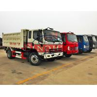 Quality 5 Cubic Meter 6 Wheel Light Duty Dump Trucks With Auxiliary Transmission 2 Axle for sale