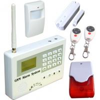 China GSM alarm system,SMS home security alarm.anti-theft,burglar alarm,fire alarm,gas alarm.24 hours armed S110 on sale