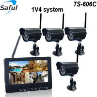 Buy cheap Easy install Mirror function video recording 2.4 GHz wireless baby monitor cctv from wholesalers