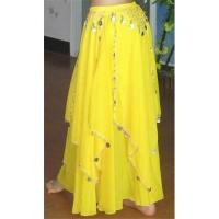 Best Belly Dance Skirt, Dance Dress with coins wholesale