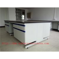 Quality 3000 mm Steel  Wood Frame  Science Lab furniture System Design for Hospital /  College laboratory for sale