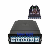 Quality FTTX Optical Fiber MPO/MTP Terminal Box With Patch Panel , MPO-LC , 12 Fibers for sale