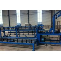 Quality 2m-4m Width Full Automatic  Chain Link Fence Machine for make wire mesh fence for sale