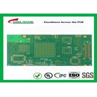 Quality Green Htg 12 Layer FR4 PCB Printed Circuit Board 3.8mm Thickness for sale