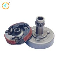 100cc Motorcycle Dual Clutch Assembly / Steel Material Manual Clutch Assembly
