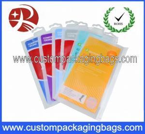 Buy cheap Printed Plastic Hanger Bags For sock Packaging from wholesalers