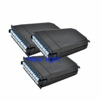 Quality MTP MPO Cassette Module With Patch Cord Connector And Corning Fiber Optic Cable for sale