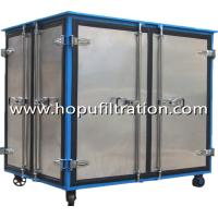 Quality Enclosed Canopy oil filtration machine for transformer breakdown voltage,transformer oil processing rig,high vacuum equi for sale