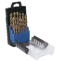 Buy cheap 25 pcs HSS Twist Drill Bit Sets with Rose Plastic Box from wholesalers