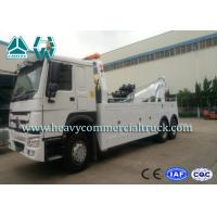 SINOTRUK 20 Tons Heavy Duty Tow Truck Wrecker , Road Recovery Vehicle