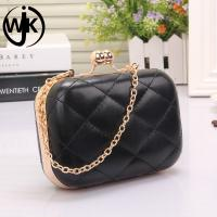 Quality 2018 Fancy women party dinner bagwholesale price pu evening bag for sale