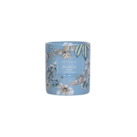 Quality Decal Custom Bulk Ceramic Jar 240G Luxury Scented Candle for sale