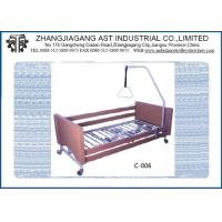 Best Two Function ICU Hospital Bed Two Position Adjusted by Double Crank Wooden Homecare Bed wholesale