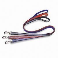 Quality Reflection Single Pet Leash, Made of Nylon for sale