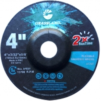 Quality 4 Inch Stainless Steel 100×2.5x16mm Flexible Grinding Disc for sale