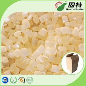 Buy cheap EVA Yellow granule Hot Melt Pellets For Packaging Corrugated Box Carton Sealing from wholesalers