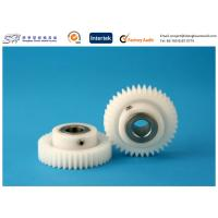 Quality Insert precision molding plastic gear POM Gears with Stainless Steel Insert for sale