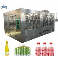 Quality 6 Capping Head Carbonated Soda Filling Machine / Carbonated Drink Bottling Machine for sale