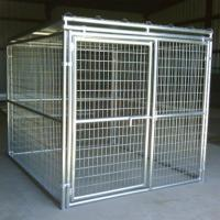 Galvanized Dog Kennel Fencing Images