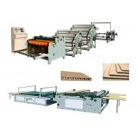 Quality Single Face Corrugated Carton Box Making Machine Low Electric Consumption for sale