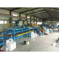 Quality Roofing / Wall Polyurethane Sandwich Panel Production Line With CE Certificate for sale