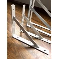 Quality steel welding trangle shelf brackts heavy duty anti -rust color powder coating for sale