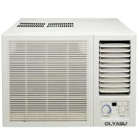 Buy cheap 12000btu R410a window aircon mechanical control cooling only remote control from wholesalers