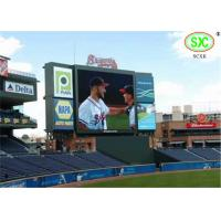 Quality High Refresh Frequency 10mm Football Led Display With Waterproof Level Ip65 for sale