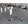 Best Mini Three Wheels Metal Supermarket / Airport Luggage Trolley With Brake 300KGS wholesale