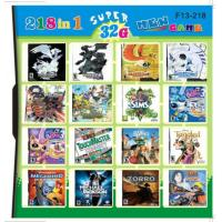 Buy cheap F13-218 32GB 218 in 1 218 in one Multi games Card for DS/DSI/DSXL/3DS Game from wholesalers