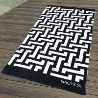 Quality Labyrinth Maze Patterned Beach Towels for sale