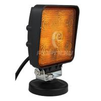 Quality IP67 Offroad ATV SUV LED Work Lights 4 x 4 Square 15W LED Tuning Working Light Yellow for sale