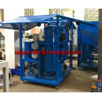 Quality China Insulation Oil Purifier Mobile Transformer Oil Purification Machine with Enclosure shelter  filtration Insulating for sale