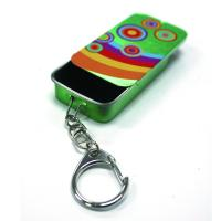 Quality Slider Mint Tin With Key Ring for sale