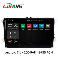 Quality Multipoint Touch Screen Car Volkswagen DVD Player With MP3 MP4 DVR AUX for sale