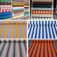 Quality Awning fabric/tent fabric/striped awning fabric for sale