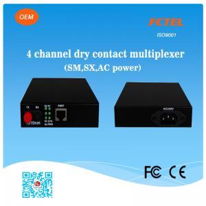 Quality 1-4 Lines Fibre Optics Data Transmission Multiplexor for sale