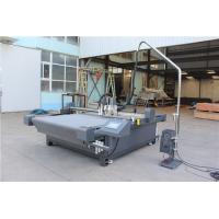 Quality High Speed Digital Flatbed Cutter Particular Router And Conveyor Belt System for sale