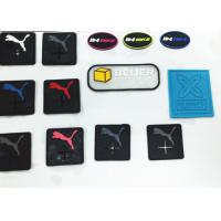 Quality Eco-Friendly Silicone 3D Reflective Garment Labels , Coating Custom Silicone Products for sale